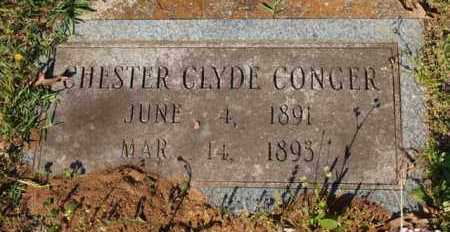 CONGER, CHESTER CLYDE - Garland County, Arkansas | CHESTER CLYDE CONGER - Arkansas Gravestone Photos