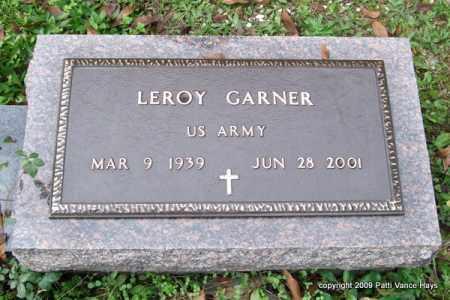 GARNER (VETERAN), LEROY - Garland County, Arkansas | LEROY GARNER (VETERAN) - Arkansas Gravestone Photos
