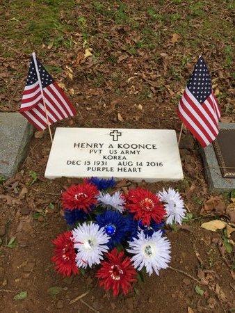 KOONCE (VETERAN KOR), HENRY - Garland County, Arkansas | HENRY KOONCE (VETERAN KOR) - Arkansas Gravestone Photos