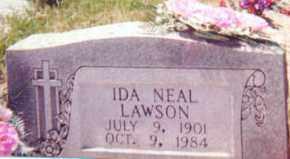 NEAL LAWSON, IDA - Garland County, Arkansas | IDA NEAL LAWSON - Arkansas Gravestone Photos