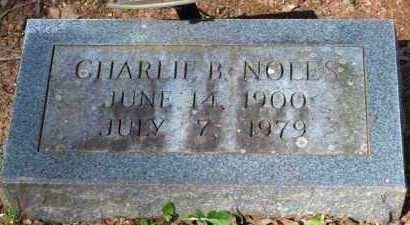 NOLES, CHARLIE B - Garland County, Arkansas | CHARLIE B NOLES - Arkansas Gravestone Photos