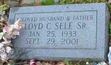 SELF, SR, LLOYD C - Garland County, Arkansas   LLOYD C SELF, SR - Arkansas Gravestone Photos