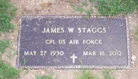 STAGGS (VETERAN), JAMES W - Garland County, Arkansas | JAMES W STAGGS (VETERAN) - Arkansas Gravestone Photos
