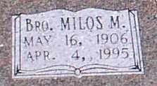 TAYLOR, MILOS M. (CLOSE UP) - Garland County, Arkansas | MILOS M. (CLOSE UP) TAYLOR - Arkansas Gravestone Photos