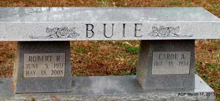 BUIE, ROBERT R - Grant County, Arkansas   ROBERT R BUIE - Arkansas Gravestone Photos