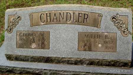 CHANDLER, GEORGE W - Grant County, Arkansas | GEORGE W CHANDLER - Arkansas Gravestone Photos