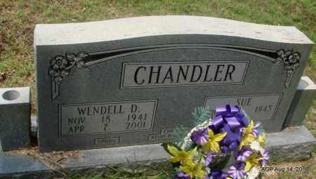 CHANDLER, WENDELL D - Grant County, Arkansas | WENDELL D CHANDLER - Arkansas Gravestone Photos