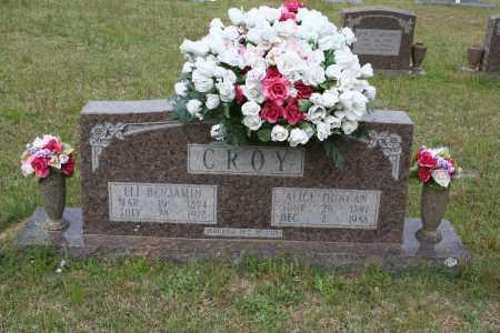 DUNCAN CROY, ALICE - Grant County, Arkansas | ALICE DUNCAN CROY - Arkansas Gravestone Photos
