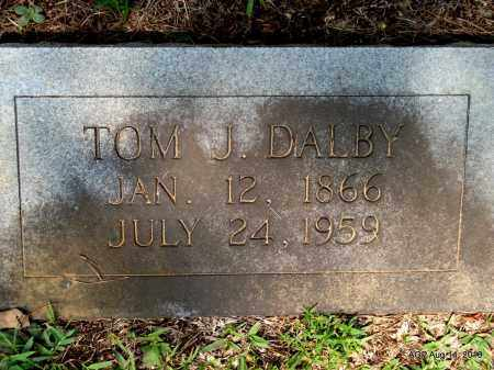 DALBY, TOM J - Grant County, Arkansas | TOM J DALBY - Arkansas Gravestone Photos