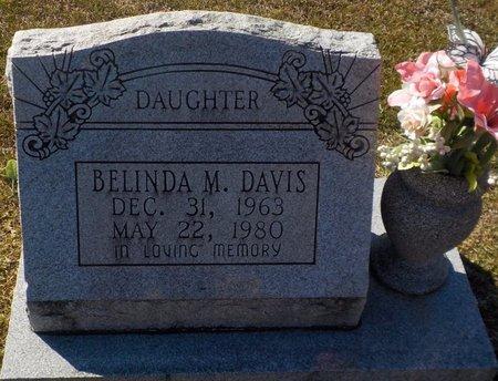 DAVIS, BELINDA M - Grant County, Arkansas   BELINDA M DAVIS - Arkansas Gravestone Photos