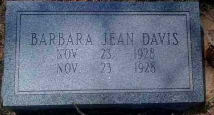 DAVIS, BARBARA JEAN - Grant County, Arkansas   BARBARA JEAN DAVIS - Arkansas Gravestone Photos