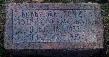 DAVIS, BOBBY DALE - Grant County, Arkansas | BOBBY DALE DAVIS - Arkansas Gravestone Photos