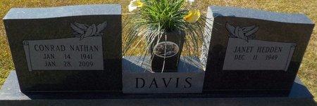 DAVIS, CONRAD NATHAN - Grant County, Arkansas | CONRAD NATHAN DAVIS - Arkansas Gravestone Photos