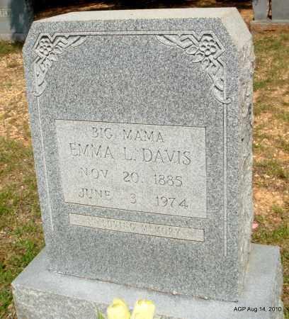 DAVIS, EMMA L - Grant County, Arkansas | EMMA L DAVIS - Arkansas Gravestone Photos
