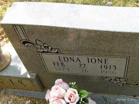 DAVIS, EDNA IONE (CLOSE UP) - Grant County, Arkansas | EDNA IONE (CLOSE UP) DAVIS - Arkansas Gravestone Photos