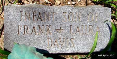 DAVIS, INFANT SON - Grant County, Arkansas | INFANT SON DAVIS - Arkansas Gravestone Photos