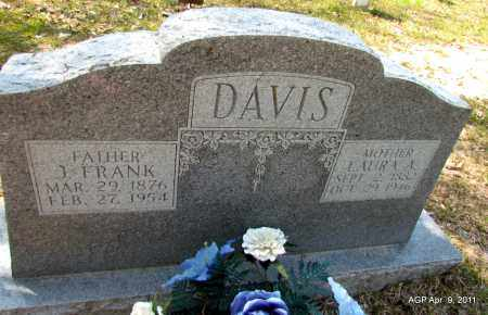 DAVIS, LAURA - Grant County, Arkansas   LAURA DAVIS - Arkansas Gravestone Photos