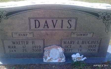 """DAVIS, MARY L """"SAMMIE"""" - Grant County, Arkansas   MARY L """"SAMMIE"""" DAVIS - Arkansas Gravestone Photos"""