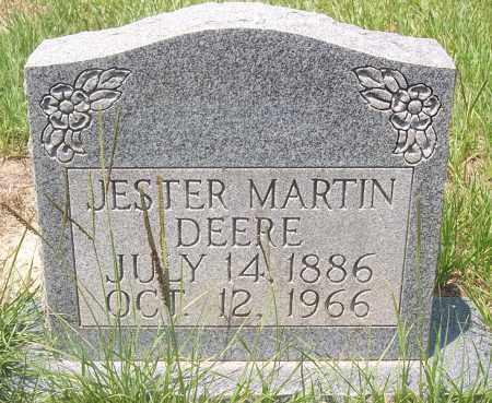DEERE, JESTER MARTIN - Grant County, Arkansas   JESTER MARTIN DEERE - Arkansas Gravestone Photos