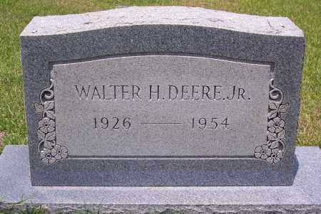 DEERE, JR, WALTER H - Grant County, Arkansas   WALTER H DEERE, JR - Arkansas Gravestone Photos
