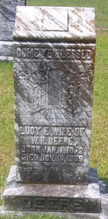 DEERE, LUCY - Grant County, Arkansas | LUCY DEERE - Arkansas Gravestone Photos