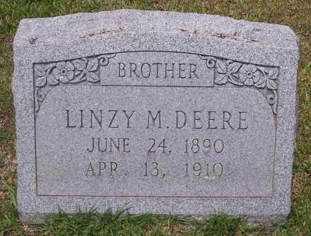 DEERE, LINZY M - Grant County, Arkansas | LINZY M DEERE - Arkansas Gravestone Photos