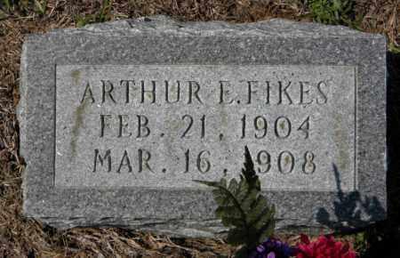 FIKES, ARTHUR E - Grant County, Arkansas   ARTHUR E FIKES - Arkansas Gravestone Photos