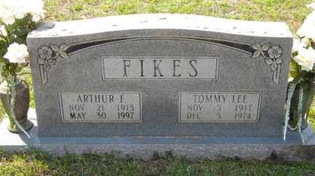 FIKES, ARTHUR - Grant County, Arkansas | ARTHUR FIKES - Arkansas Gravestone Photos