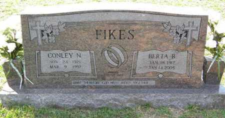FIKES, CONLEY N - Grant County, Arkansas   CONLEY N FIKES - Arkansas Gravestone Photos
