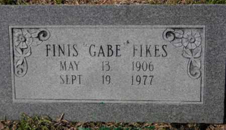 "FIKES, FINIS ""GABE"" - Grant County, Arkansas | FINIS ""GABE"" FIKES - Arkansas Gravestone Photos"
