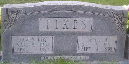 FIKES, JEFFIE A - Grant County, Arkansas | JEFFIE A FIKES - Arkansas Gravestone Photos