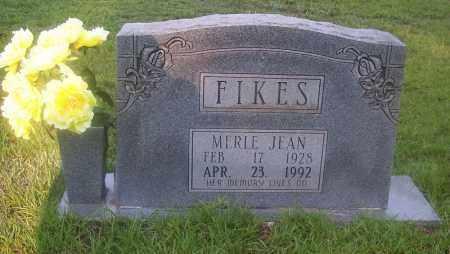 FIKES, MERLE JEAN - Grant County, Arkansas   MERLE JEAN FIKES - Arkansas Gravestone Photos