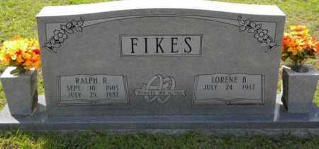 FIKES, RALPH R - Grant County, Arkansas   RALPH R FIKES - Arkansas Gravestone Photos