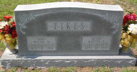 FIKES, MATTIE E - Grant County, Arkansas | MATTIE E FIKES - Arkansas Gravestone Photos