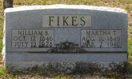 FIKES, WILLIAM B - Grant County, Arkansas | WILLIAM B FIKES - Arkansas Gravestone Photos