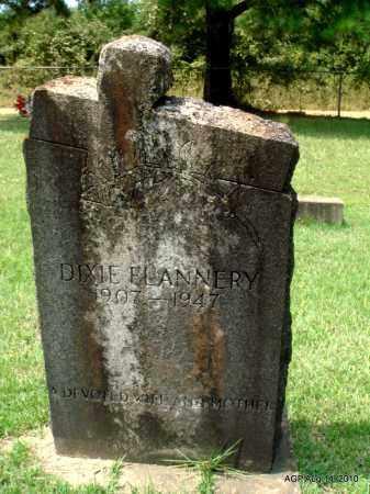 FLANNERY, DIXIE - Grant County, Arkansas   DIXIE FLANNERY - Arkansas Gravestone Photos