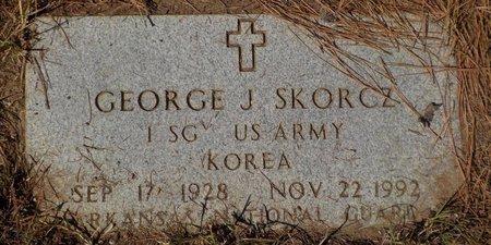 GEORGE (VETERAN KOR), GEORGE J - Grant County, Arkansas | GEORGE J GEORGE (VETERAN KOR) - Arkansas Gravestone Photos