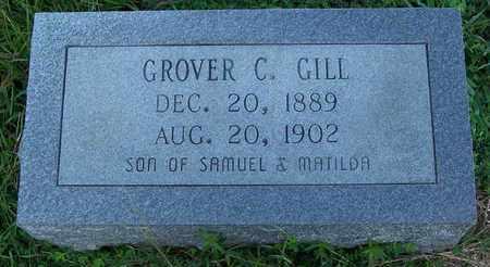 GILL, GROVER C - Grant County, Arkansas   GROVER C GILL - Arkansas Gravestone Photos