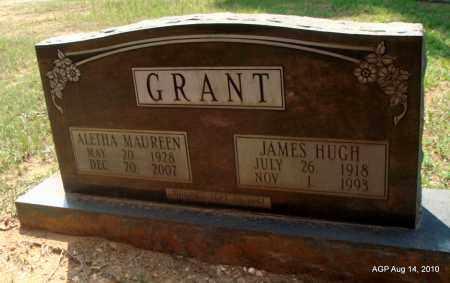 GRANT, ALETHA MAUREEN - Grant County, Arkansas | ALETHA MAUREEN GRANT - Arkansas Gravestone Photos
