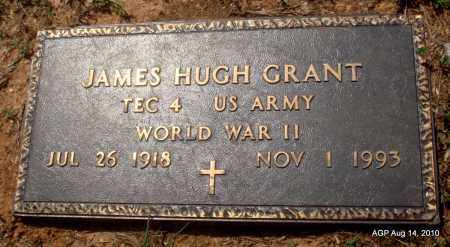 GRANT (VETERAN WWII), JAMES HUGH - Grant County, Arkansas | JAMES HUGH GRANT (VETERAN WWII) - Arkansas Gravestone Photos