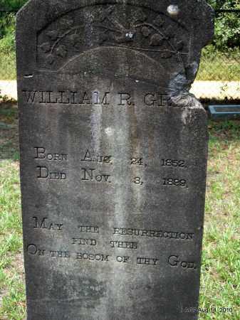 GRAY, WILLIAM R - Grant County, Arkansas | WILLIAM R GRAY - Arkansas Gravestone Photos