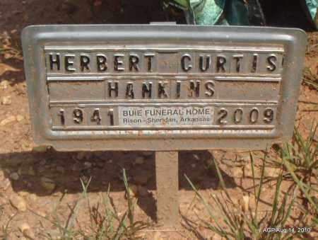 HANKINS, HERBERT CURTIS - Grant County, Arkansas   HERBERT CURTIS HANKINS - Arkansas Gravestone Photos