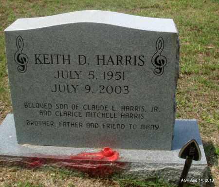 HARRIS, KEITH D - Grant County, Arkansas | KEITH D HARRIS - Arkansas Gravestone Photos