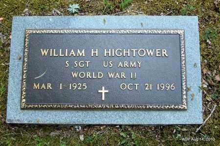 HIGHTOWER (VETERAN WWII), WILLIAM H - Grant County, Arkansas | WILLIAM H HIGHTOWER (VETERAN WWII) - Arkansas Gravestone Photos