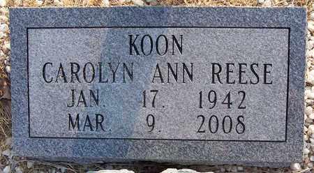 KOON, CAROLYN ANN - Grant County, Arkansas | CAROLYN ANN KOON - Arkansas Gravestone Photos