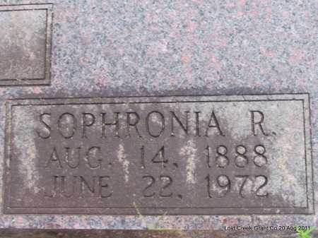 KOON, SOPHRONIA R - Grant County, Arkansas | SOPHRONIA R KOON - Arkansas Gravestone Photos