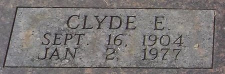 LOWMAN, CLYDE E (CLOSE UP) - Grant County, Arkansas | CLYDE E (CLOSE UP) LOWMAN - Arkansas Gravestone Photos