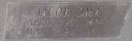 LOWMAN, JACOB OMA (CLOSE UP) - Grant County, Arkansas   JACOB OMA (CLOSE UP) LOWMAN - Arkansas Gravestone Photos