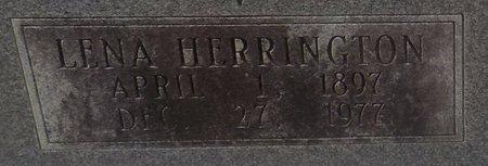 HERRINGTON LOWMAN, LENA (CLOSE UP) - Grant County, Arkansas | LENA (CLOSE UP) HERRINGTON LOWMAN - Arkansas Gravestone Photos