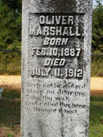 MARSHALL, OLIVER - Grant County, Arkansas   OLIVER MARSHALL - Arkansas Gravestone Photos